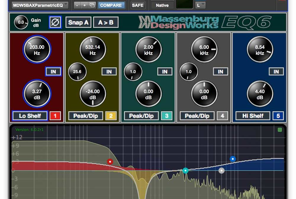 New Massenburg MDWEQ6-AAX Plug-In Now Available