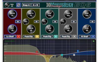 New Massenburg MDWEQ6-AAX Plug-In Now Available