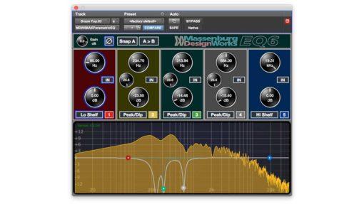 MDWEQ6-AAX 5 Band & Spectrum