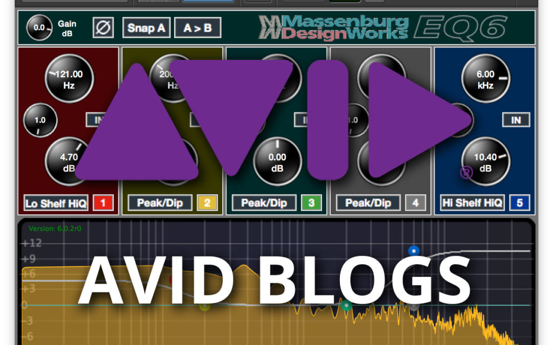 AVID BLOG – George Massenburg Reprises his Hi-Res EQ for Pro Tools